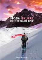 Rosa skjerf og nyfallen snø
