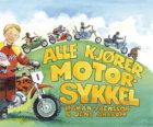 Alle kjører motorsykkel