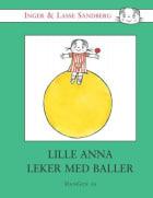 Lille Anna leker med baller