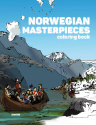 Norwegian masterpieces. Coloring book