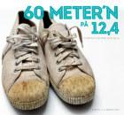 60 meter'n på 12,4