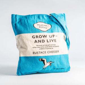 Grow Up and Live (light blue)