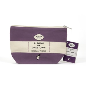 Penguin pencil case: A Room of One's Own (purple)