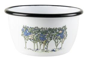 Elsa Beskow emaljebolle blåbær