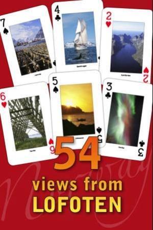 Spillkort = Playing cards. Lofoten