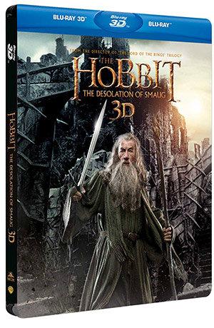 Hobbiten -Smaugs ødemark 3D (steelbook edition)