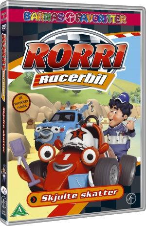 Rorri Racerbil - Skjulte skatter