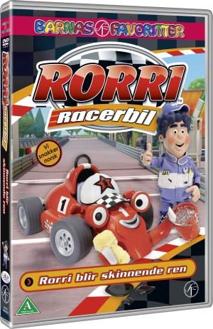 Rorri Racerbil - Rorri blir skinnende ren