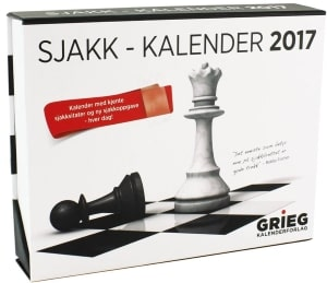 Sjakk-kalender 2017
