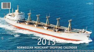Norwegian merchant shipping calender 2013
