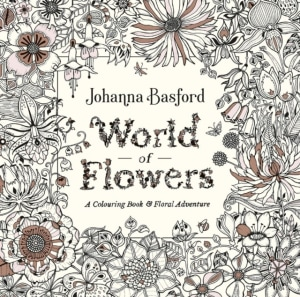 World of flowers. A colouring book and floral adventure