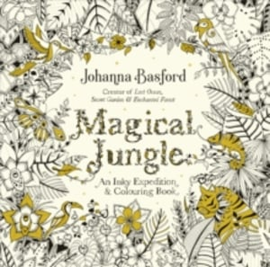Magical jungle. An inky expedition & colouring book