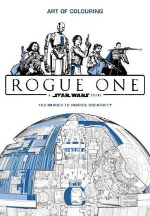 Star wars rogue one. Art of colouring
