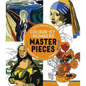 Colour-by-numbers masterpieces. Unwind and release your creativity by bringing art to life
