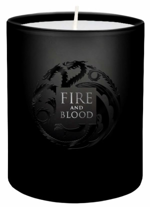 Game of Thrones. Fire and Blood votive candle