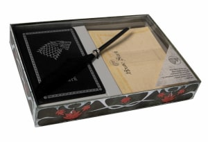 Game of Thrones. House Stark. Desktop Stationery Set (with pen)