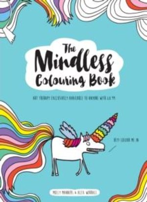 The mindless colouring book.  Art therapy exclusively available to anyone with 8.99
