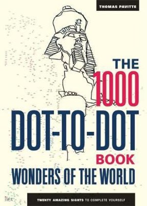 1000 dot-to-dot book. Wonders of the world