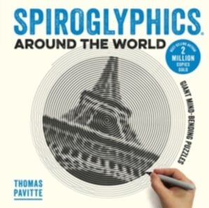 Spiroglyphics around the world. Colour and reveal your favourite places in these 20 mind-bending puzzles