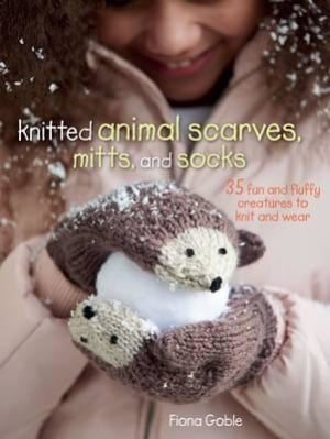 Knitted animal scarves