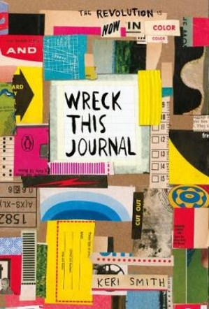 Wreck this journal. Now in colour