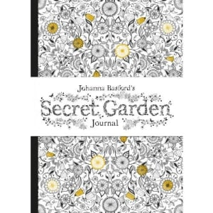 Johanna Basford's Secret garden journal. Notisbok