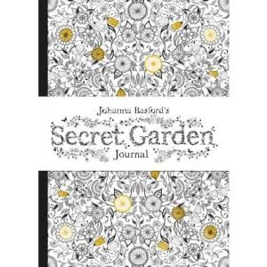 Johanna Basford's Secret garden journal. Notisbok