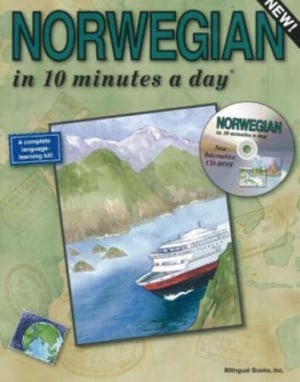 Norwegian in 10 minutes a day including CD-rom