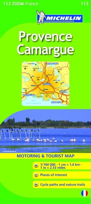 Provence, Camargue = Provence, Camargue : carte routière et touristique