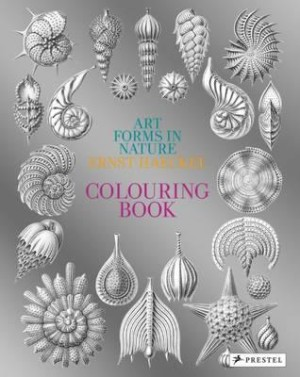 Art forms in nature. A colouring book of Ernst Haeckel's prints