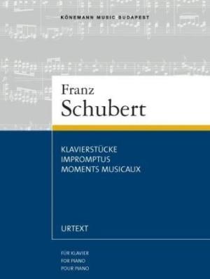 Klavierstücke = Impromptus = Moments musicaux