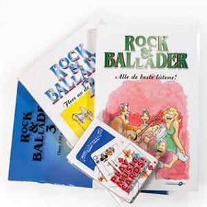 Rock & ballader 1-3 + kortstokk