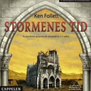 Stormenes tid. Ken Follett. Et atmofærisk og spennende strategispill for 2-4 spillere