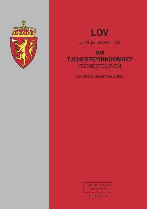 Lov om tjenestevirksomhet (tjenesteloven) av 19. juni 2009 nr. 103