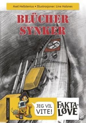 Blücher synker
