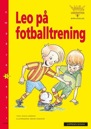 Leo på fotballtrening