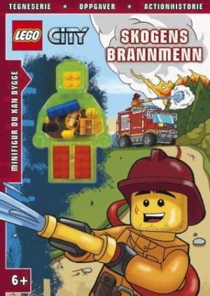 Lego city. Skogens brannmenn. 1 hefte. 1 legofigur