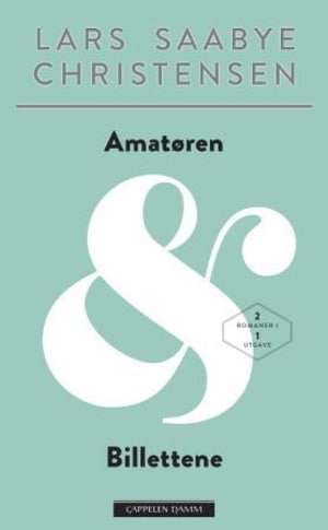 Amatøren ; Billettene : roman