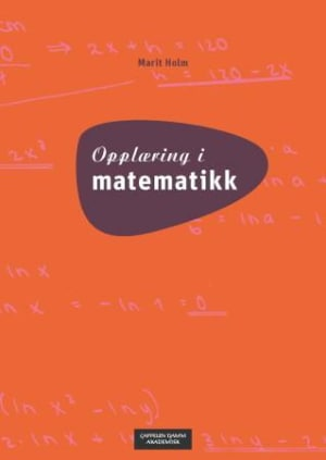 Opplæring i matematikk