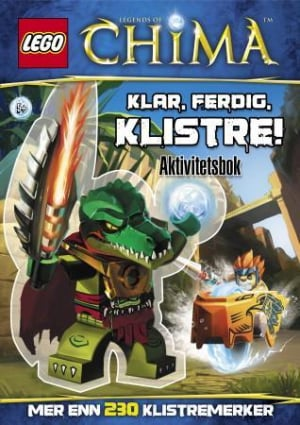 Lego. Legends of Chima. Klar, ferdig, klistre! Aktivitetsbok