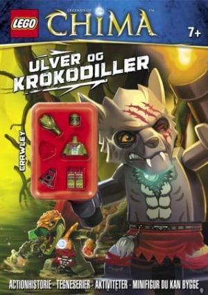 Lego. Legends of Chima. Ulver og krokodiller. 1 aktivitetshefte. 1 legofigur