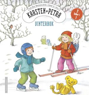 Karsten og Petra går på ski og skøyter
