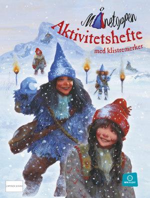 Jul på Månetoppen 2014. Aktivitetsbok med klistremerker