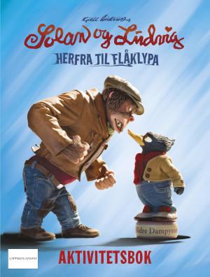 Kjell Aukrusts Solan og Ludvig. Herfra til Flåklypa. Aktivitetsbok