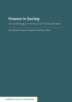 Finance in society