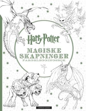 Harry Potter. Magiske skapninger. Fargeleggingsbok