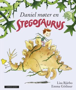 Daniel møter en stegosaurus
