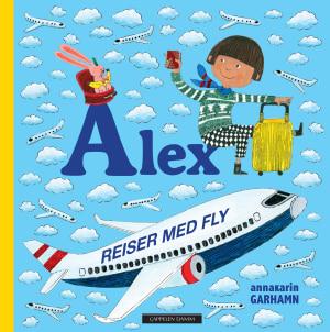 Alex reiser med fly