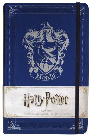 Harry Potter Ravnklo. Linjert notatbok med lomme. Stor