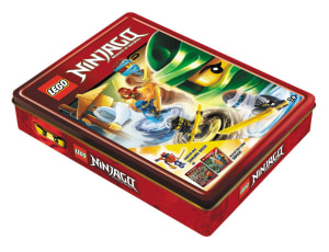 Lego Ninjago. Tinnboks m/aktivitetsbøker